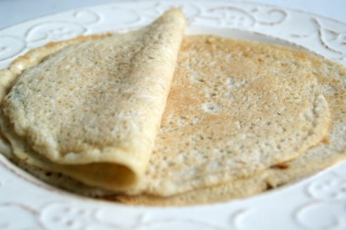 Crepes all'aquafaba (anche senza glutine)
